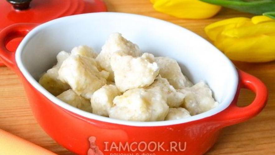 Рецепт ленивых вареников по дюкану
