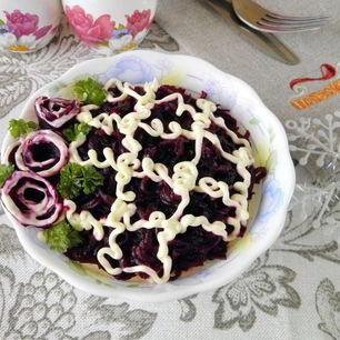 Рецепт Селедки под шубой без моркови